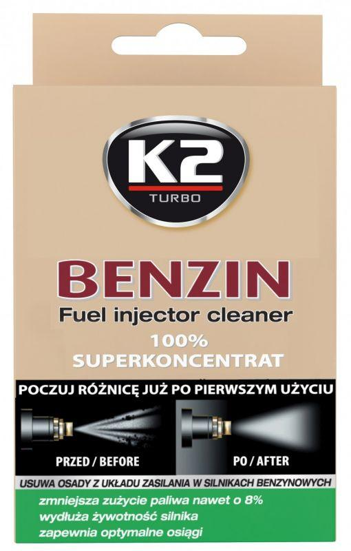 K2 BENZIN 50 ml - aditivum do paliva