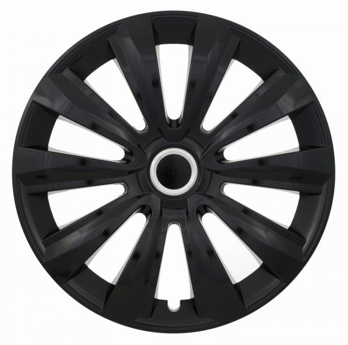"15"" DELTA RING BLACK set 4ks"